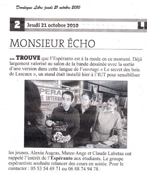 article DL du 21 octobre 2010
